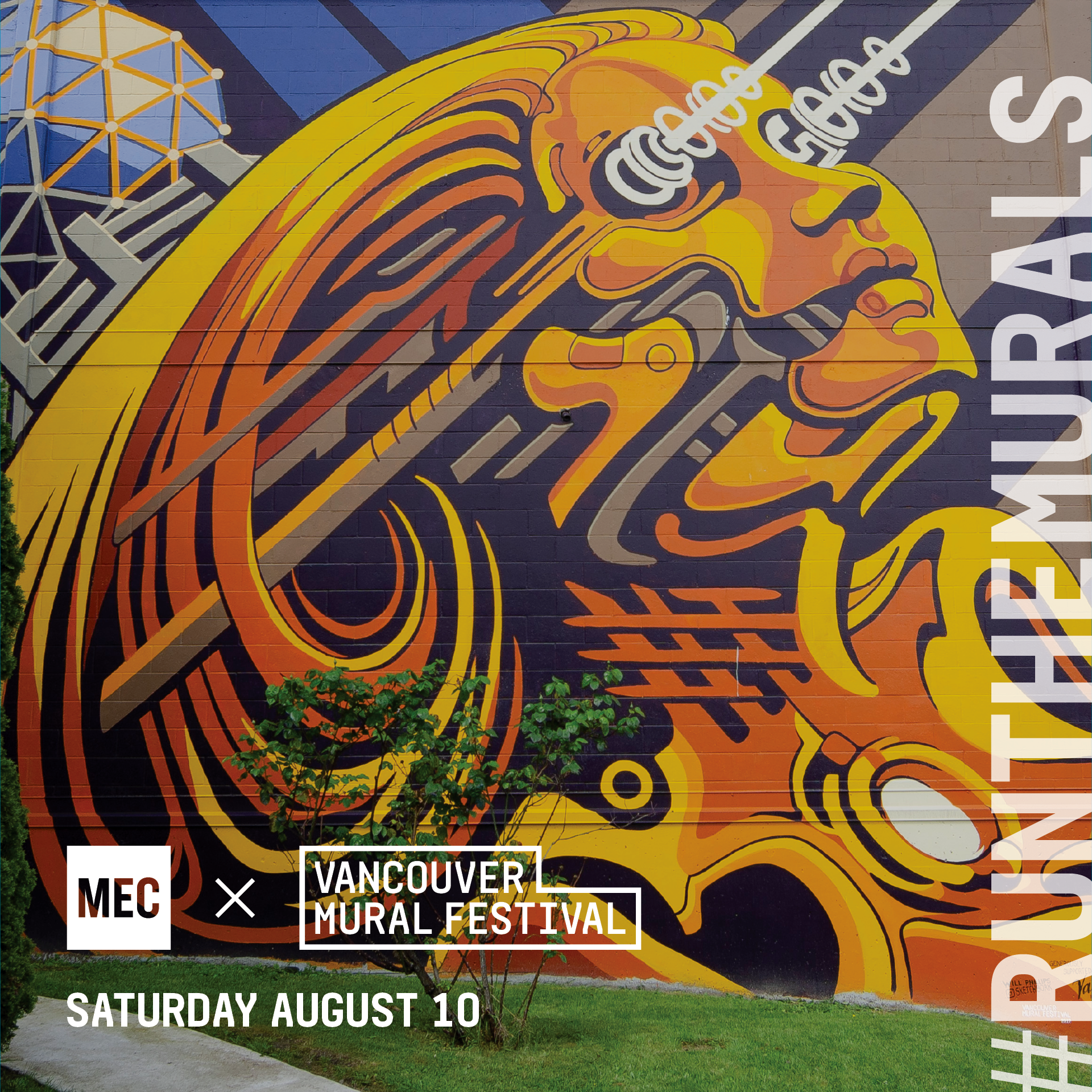 Cost: FREE   MEC and Vancouver Mural Fest have partnered up to create a unique running experience called #RunTheMurals. Together we have curated a running route that highlights some of the city's best public art.  Join the  MEC Run Crew  for a family friendly run on Saturday, August 10th for a 2K or 5K run that explores the beautiful streets and alleyways of Mount Pleasant and discover the art and culture that is right here in our backyard. Post-run head straight to the Vancouver Mural Street Festival and check out all the amazing things they have in store for you!  Register  here !