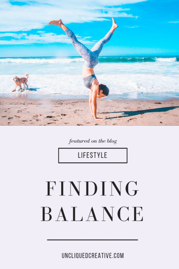 Finding balance by uncliqued creative