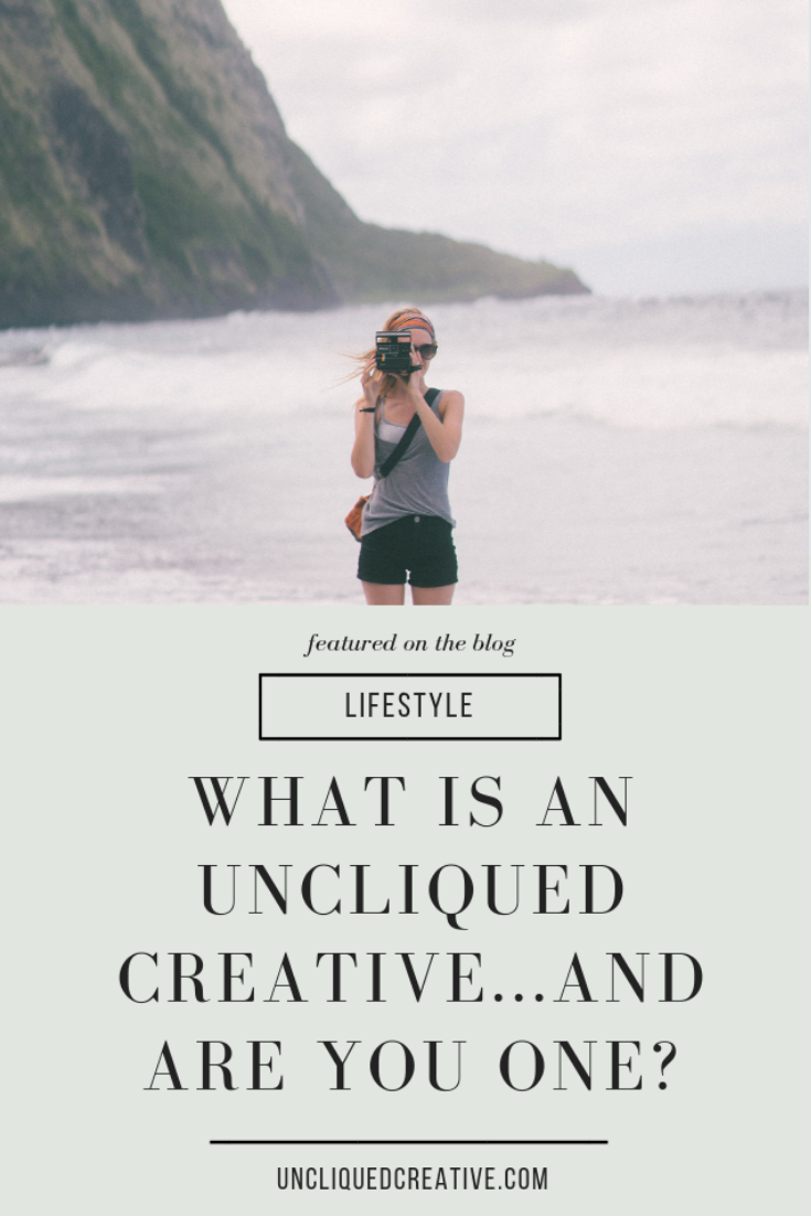 Are you an Uncliqued Creative