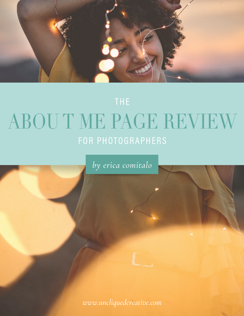 About Me Page Review