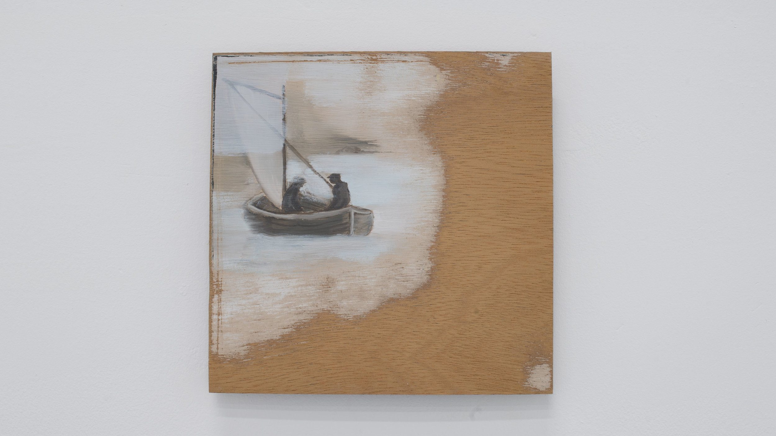 John Henley   Untitled   Paint on wood