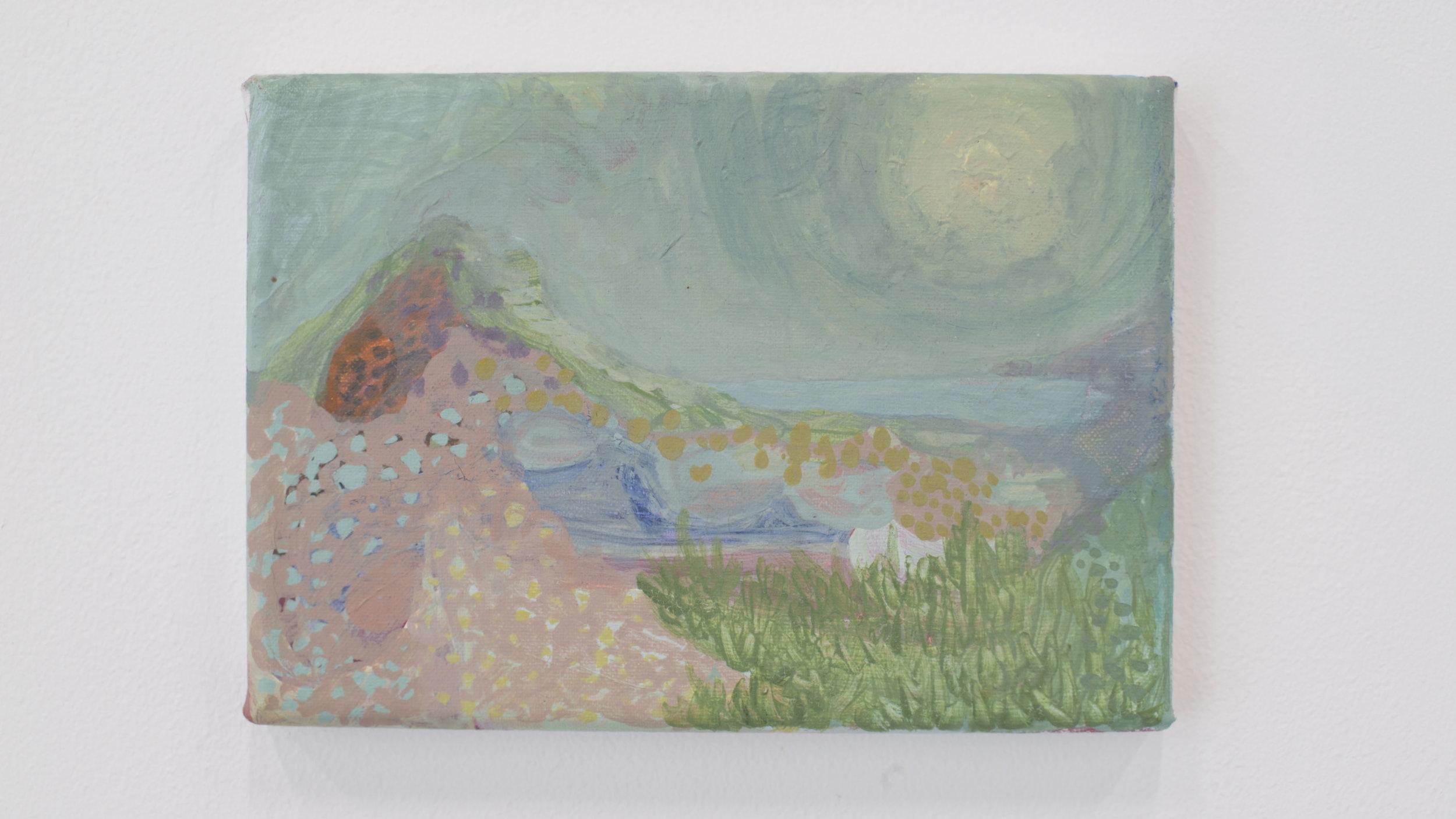 Cassie Massa   Long Island Sound   Oil on canvas