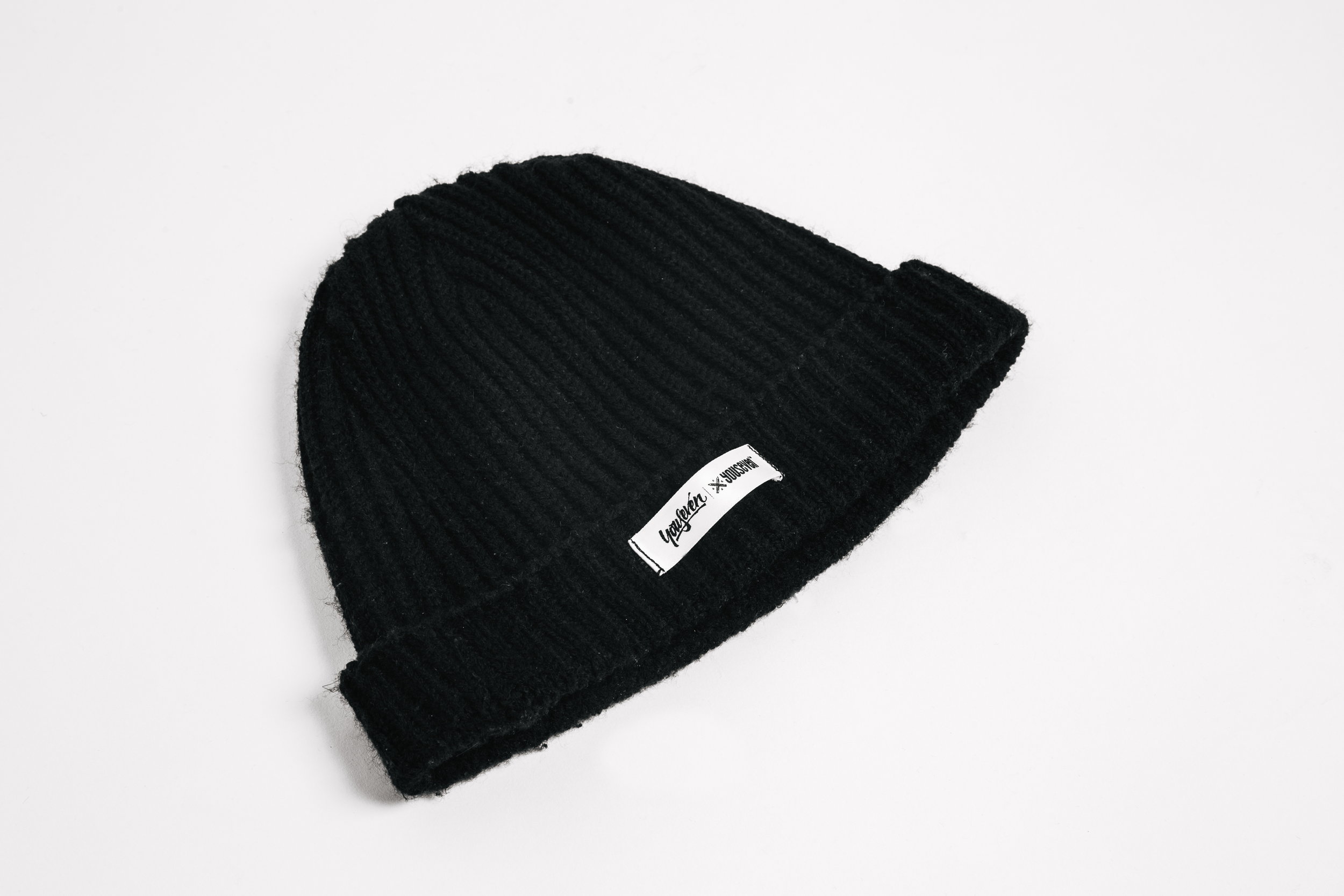 AC03_ Acrylic Logo Beanie. Local manufacturer needed before any release.