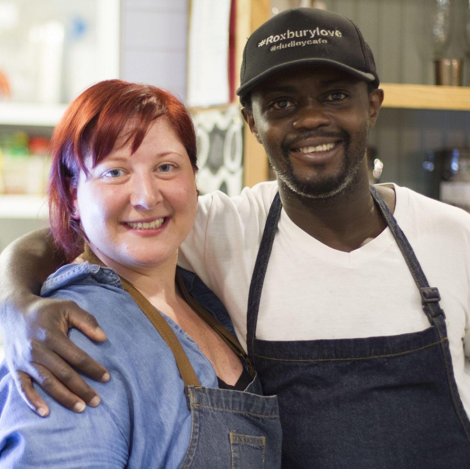 Kwasi Kwaa & Shelley Nason   (Image Credit:  Lauren Miller)