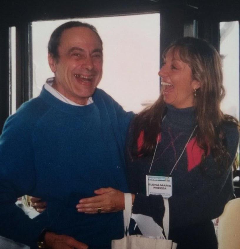 with Elena Frezza, c. 1998