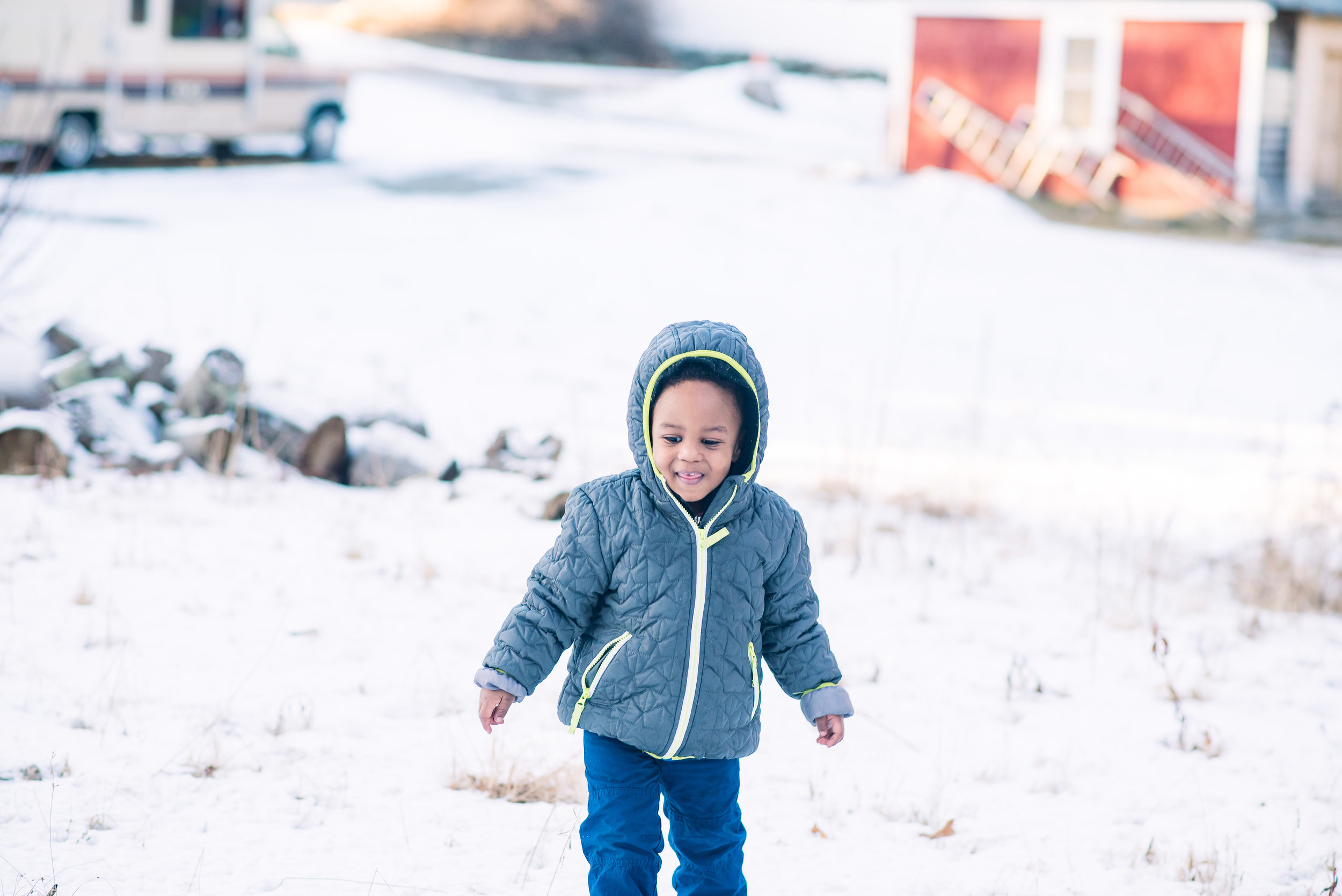 Winter Children Portraiture