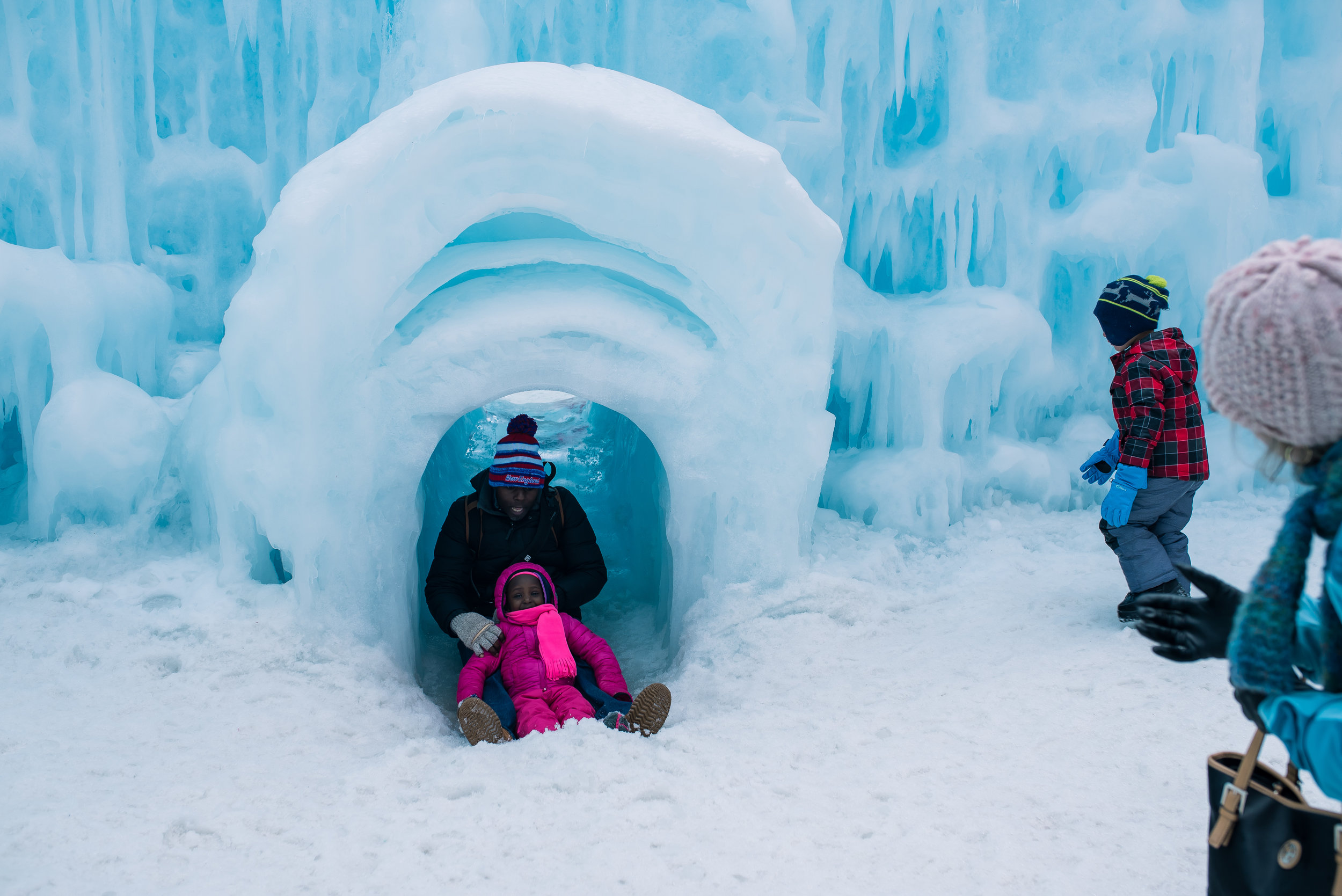 Ice Castles Lincoln NH
