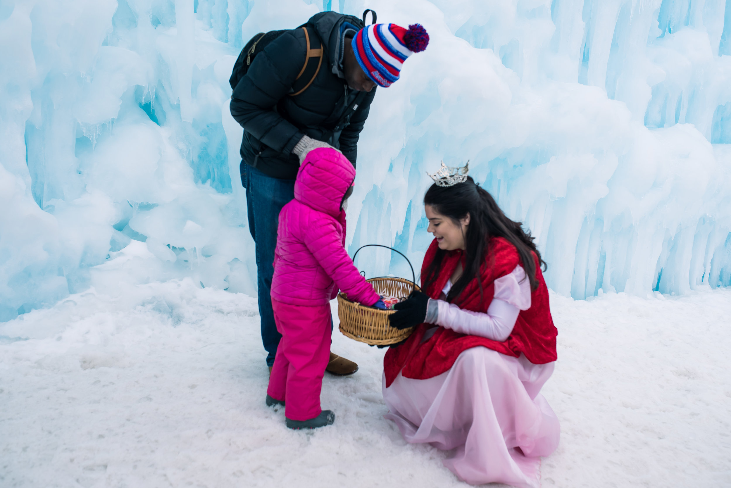 seraphine photography Ice Castles Lincoln NH