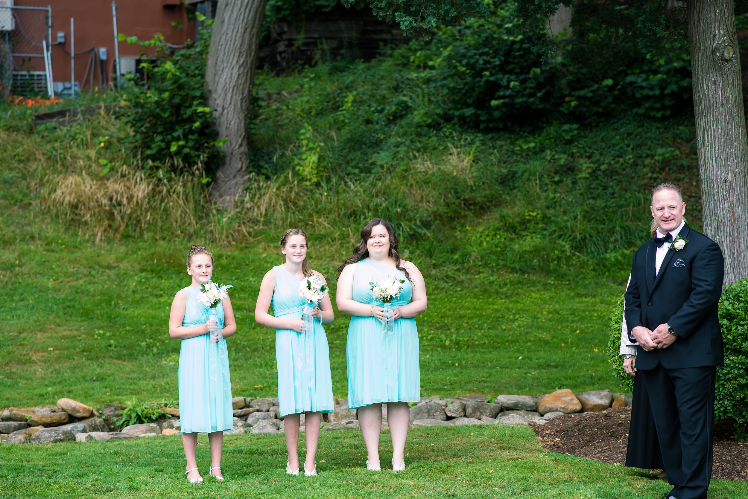 Bridal party waiting for bride Brewster Gardens Plymouth MA (2 of 1).jpg