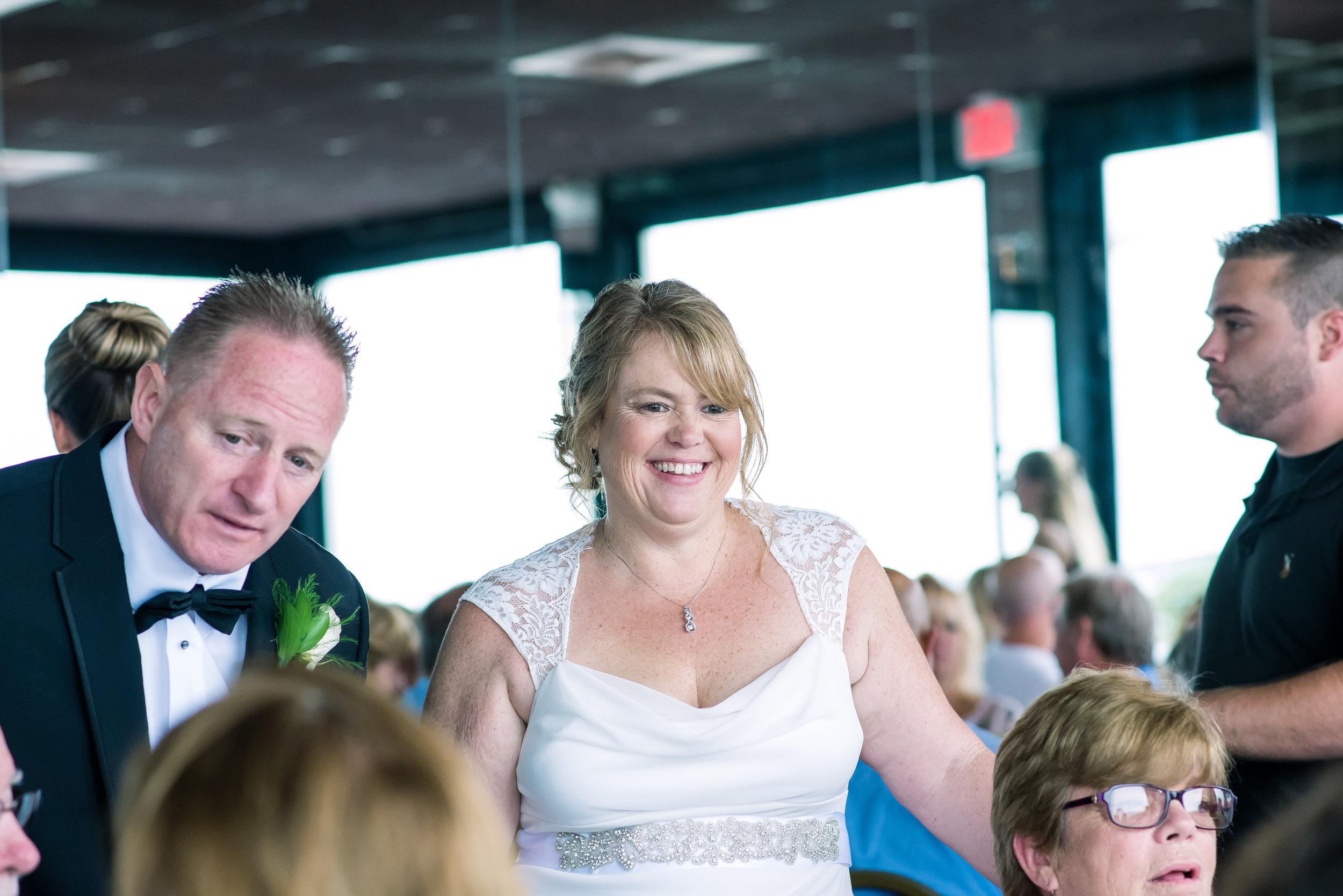 Bride and Groom Mingling at Isaacs Restaurant Reception (26 of 1).jpg