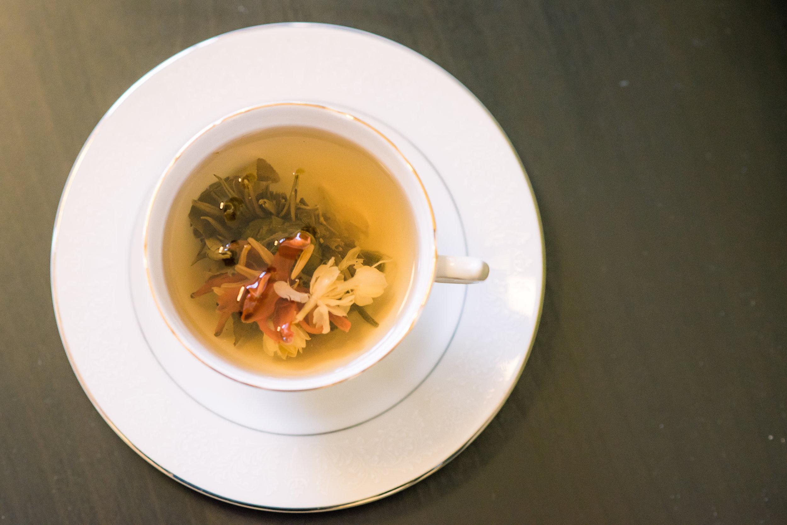 Jasmine, Lotus and Lychee Flowering Tea