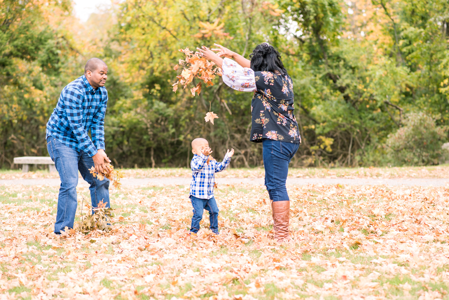 Family Pictures with the Autumn Leaves at Demarco Park Avon MA (19 of 1).jpg