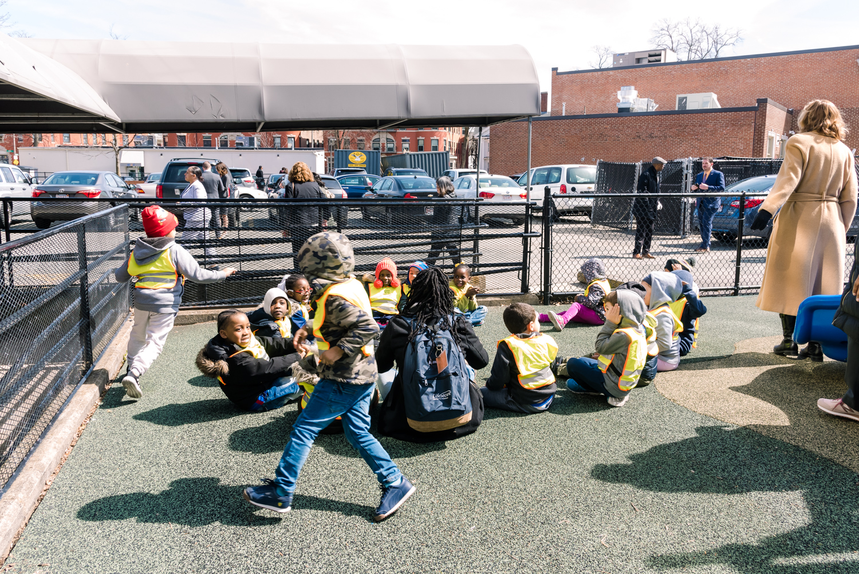 Walnut Grove Headstart Children engaging in activities during the Mayors Speech (14 of 1).JPG