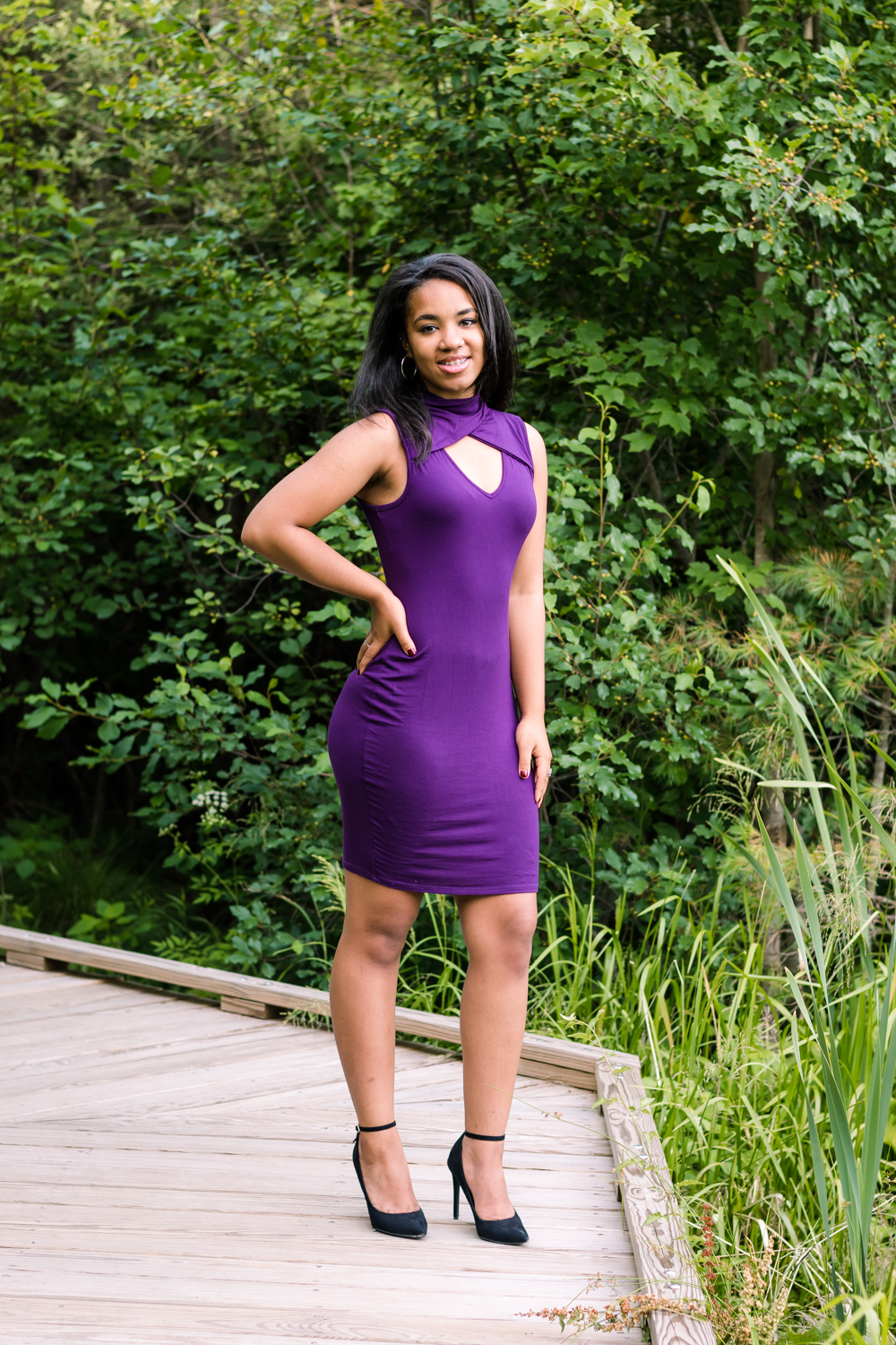 Holbrook MA High School Senior Pictures in Purple Dress at Powers Farm Randolph MA  (15 of 1).JPG
