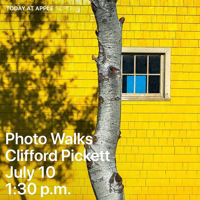 Come join me on a photo walk I'm doing with Apple starting at their SOHO store tomorrow at 1:30pm. So excited, It's going to be a lot of fun!  I'll be giving two presentations with them, one on Wednesday and another on Thursday all at #applestoresoho and all on #iphoneography