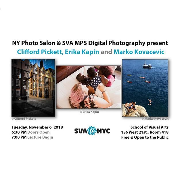 So excited for my presentation on mobile photography and computational imaging @svanyc  Come join if you're in the city.