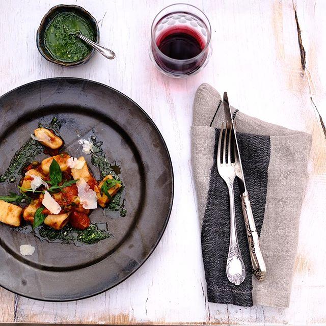 Home made Gnocchi alla puttanesca @chef_george_zurich @strandbadwinkel13 #goldcoast #finefood #essenamzuerichsee