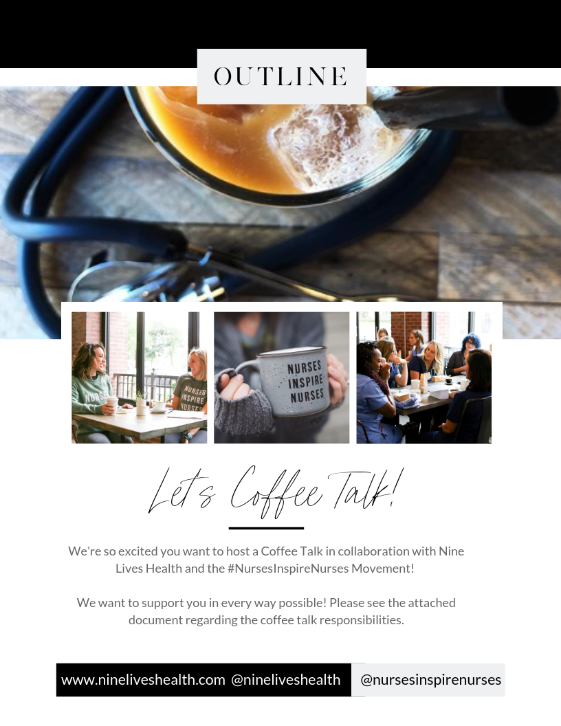 Coffee Talk - Want to host a coffee talk in your area? We would love to support you! Take a look at what we will need from you before you fill out the required application so that you know what is expected ahead of time!