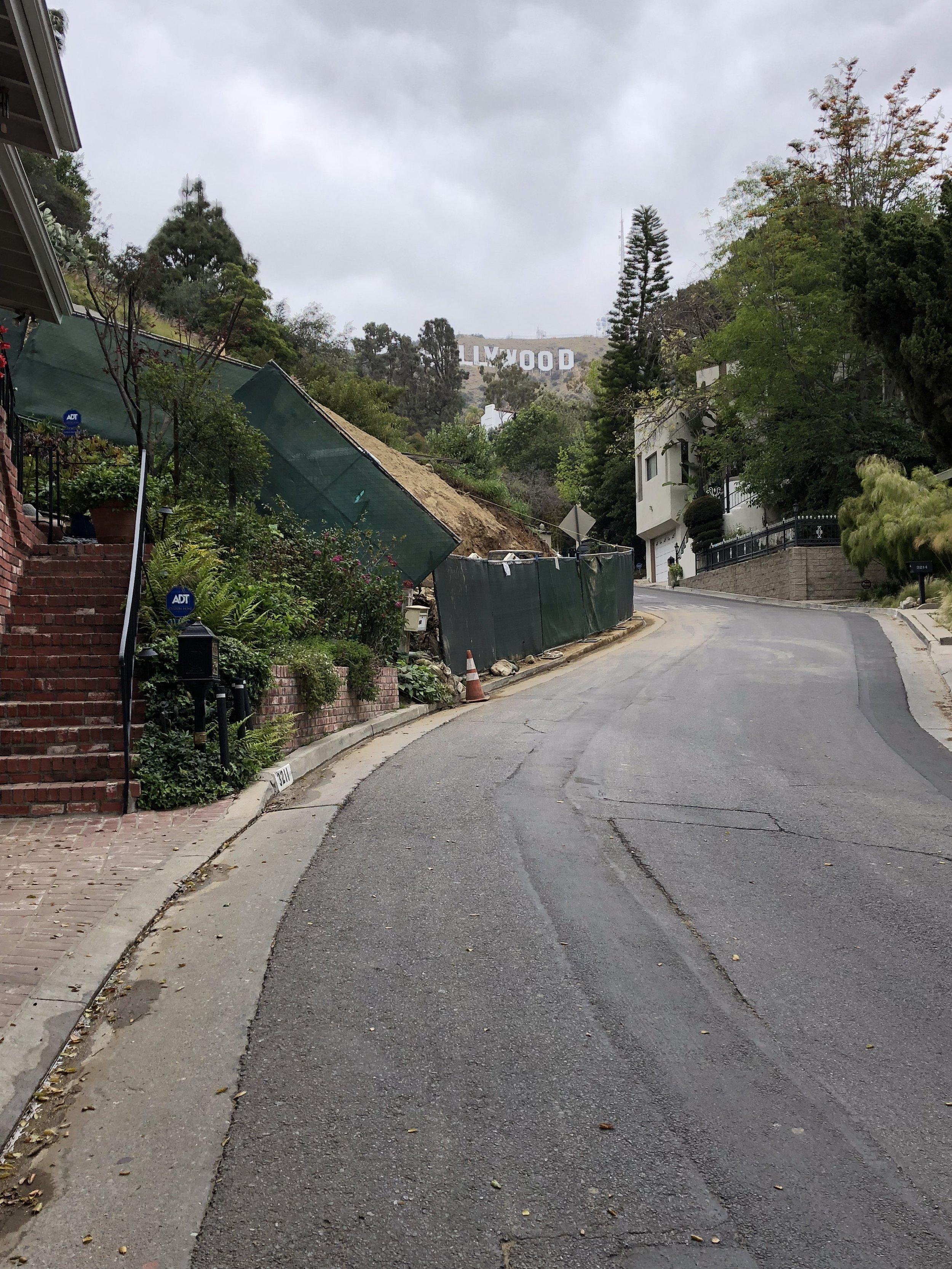 Hollywood Hills Ledgewood Drive