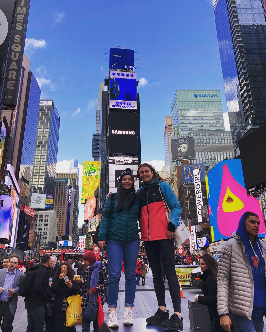Times Square | free - One of the most talked about places in New York! The colours, the screens, the close-by Madison Square Garden… a must visit day or night!