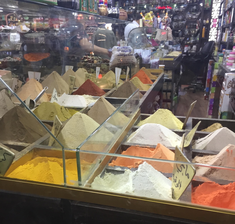 Spice Market in Amman (July 2017).