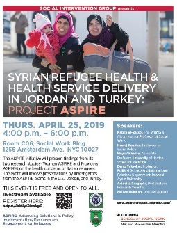 Join us for the ASPIRE dissemination event on April 25!