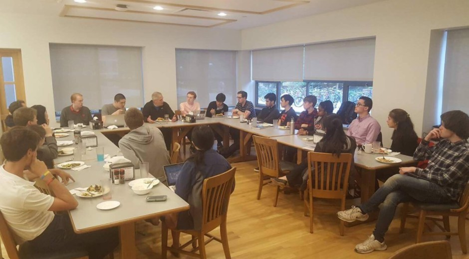 Dinner with Professor Michael Oppenheimer, co-hosted with the Princeton Student Climate Lobby