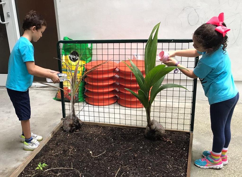 Watering Plants - Alessia & Jamie