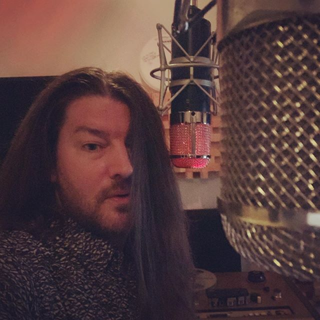 Getting ready to cut these new vocals. This song is so hot, I need two microphones :) can't wait to share the new songs. It's been too long.