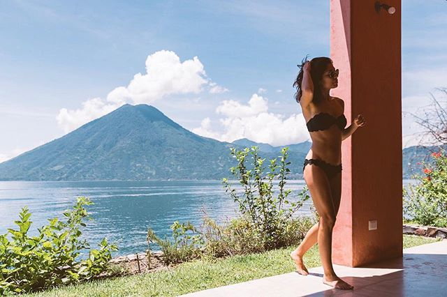 Lake-side leisure life. Wake up, swim, chill, repeat. #projectmurray . . . . #vacationmode #travellife #volcano #marysiaswim #sonyalpha #alphacollective #traveldeeper #lakeatitlan #guatemala #beautifuldestinations #mytinyatlas #travelblogger #travelgram #travelingtheworld #passionpassport #traveldiaries #worldnomads #instapassport #visualsoflife #girlsthatwander  #girlvsglobe #ladiesgoneglobal #wanderlust #travelstoke #collectivelycreate #thevisualscollective #photographylovers #photographyoftheday #justgoshoot