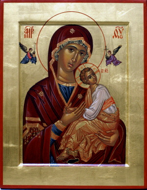 The Mother of God of the Passion