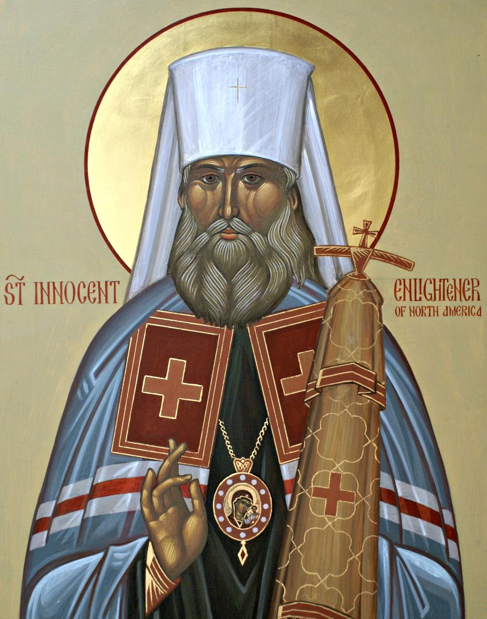 Saint Innocent, Enlightener of North America