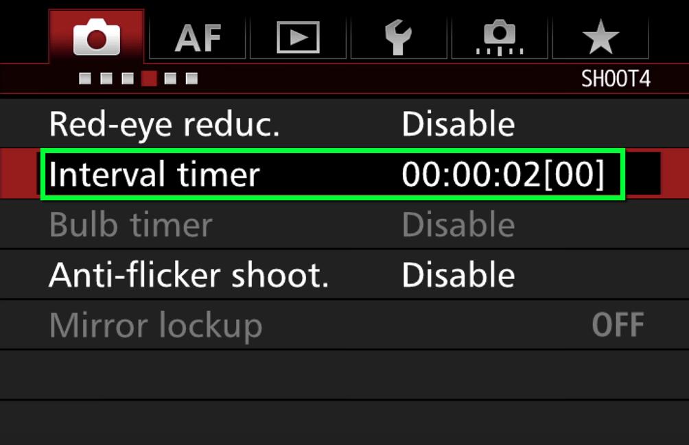 Time-lapse - Set