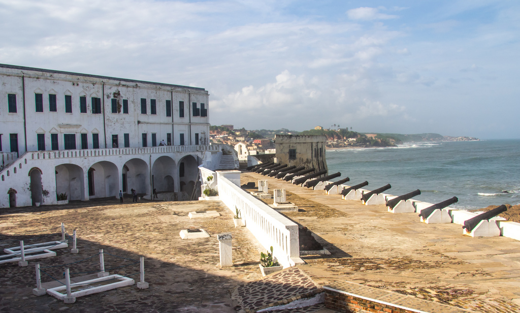 CAPE COAST  Cape Coast is one of the most historical cities in Ghana and has a large coastal fishing community. In 1650, the Swedes built a lodge that would later become the better known  Cape Coast Castle , which is now a  World Heritage Site  for its ties to the trans-Atlantic Slave Trade.