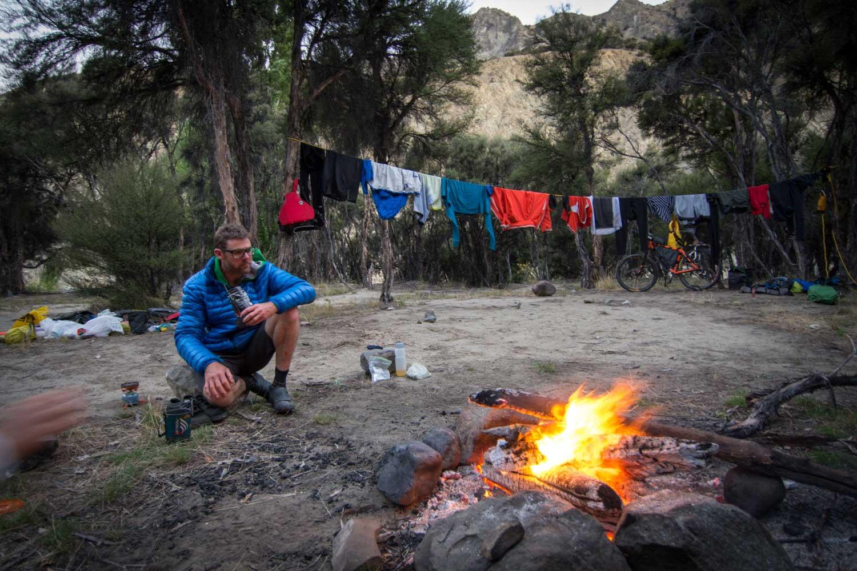 Dart river camp site / Photo: Grant Stirling