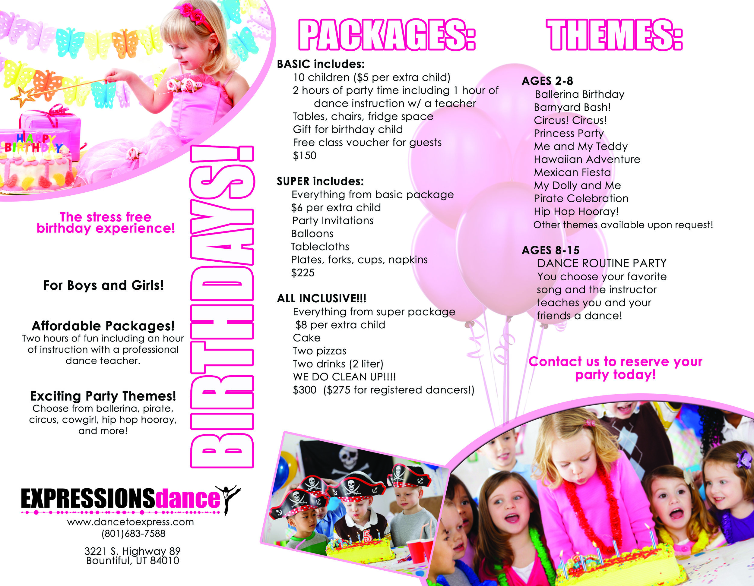 birthday parties, dance party, kids birthday ideas