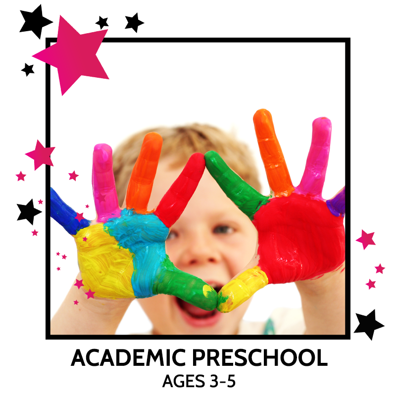 ACADEMIC PRESCHOOL, DANCE CLASSES, GYMNASTICS LESSONS