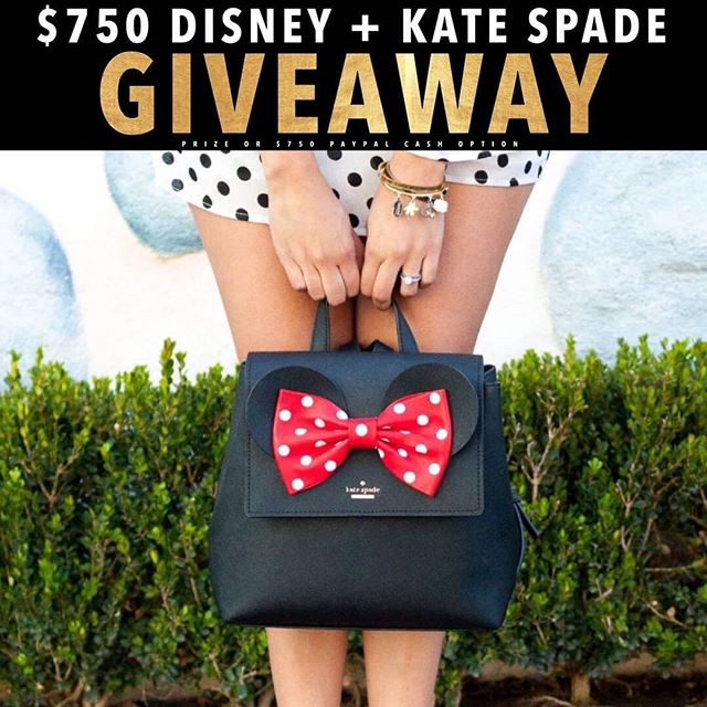 Who's ready for a day at the most magical place in earth?🐭🏰🎠$750 Disney Gift card + Kate Spade Bag or PayPal cash the choice is up to you! It just takes 30 seconds to enter!  To enter  1️⃣ Follow me @magicaltradingpost  2️⃣ Like this post ❤️ 3️⃣ Go to @gotta_have_it_giveaways and follow all directions  4️⃣ Tell us who your Disney Bestie is, TAG THEM! • • • #disneyland #disneyworld #disney #disneylife #disneyphotography #disneychannel #disneyfood #disneyinsta #disneybound #disneystore #disneystyle #disneyparks #disneymagic #disneyfan #disneylove #disneyprincesses #tokyodisneyland #disneylandparis #waltdisneyworld #waltdisney #waltdisneystudios #magickingdom #animalkingdom #hollywoodstudios #mickeymouse #mickeyears #disneyprinces #disneygram #disneyaddict