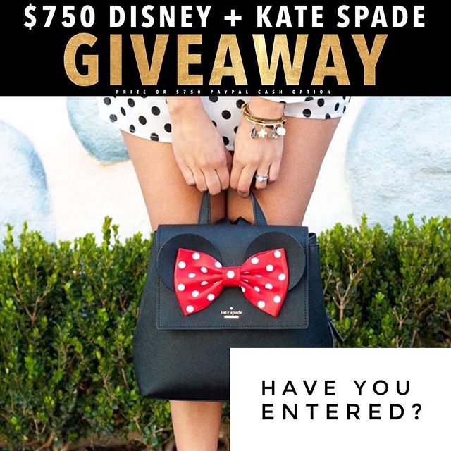 Calling all Disney lovers this ones for you!🐭❤️ $750 Disney + Kate Spade or PayPal cash the choice is up to you! It just takes 30 seconds to enter!  To enter  1️⃣ Follow me @magicaltradingpost  2️⃣ Like this post ❤️ 3️⃣ Go to @gotta_have_it_giveaways and follow all directions  4️⃣ Tell us who your Disney Bestie is, TAG THEM! • • • #disneyland #disneyworld #disney #disneylife #disneyphotography #disneychannel #disneyfood #disneyinsta #disneybound #disneystore #disneystyle #disneyparks #disneymagic #disneyfan #disneylove #disneyprincesses #tokyodisneyland #disneylandparis #waltdisneyworld #waltdisney #waltdisneystudios #magickingdom #animalkingdom #hollywoodstudios #mickeymouse #mickeyears #disneyprinces #disneygram #disneyaddict