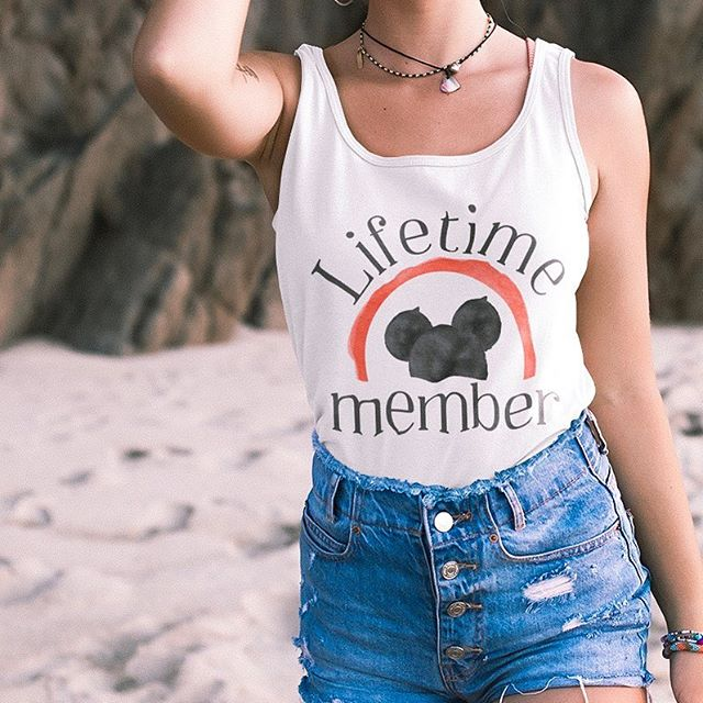 "Come along and grab a tank And join the jamboree!!! • • Y'all have been requesting, the day is finally here for limited release ""Lifetime Member T A N K S"" - - - #disneyworld #disneyland #disneystyle #disneyfashion #disneystreetstyle #magickingdom #mickeys90thbirthday #stylememickey #disneyside #styledbymagic #dressedindisney #disneylifestylers #disneygram #disneygrammer #instadisney #disneypic #popsugar #allthingsdisney #mickeys90thspectacular #disneyapparel #mickeymouse #mickeyears #xoxomickey #disneynerd #magicaltradingpost #mickeymouseclub #mouseketeers"