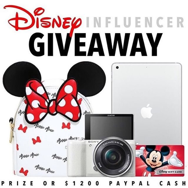 Calling all Disney lovers and Disney Influencers this one is for you! 🐭🏰 Disney Influencer gift set or $1200 PayPal cash the choice is up to you! It just takes 30 seconds to enter!  To enter  1️⃣ Follow me @magicaltradingpost  2️⃣ Like this post ❤️ 3️⃣ Go to @gotta_have_it_giveaways and follow all directions  4️⃣ Tell us who you would take to Disney with you, TAG THEM! • • • #mickeymouseparty #disneylandfood #disneyphotography #disneyland #disneyworld #disney #disneyfood #disneylife #disneycaliforniaadventure #waltdisneyworld #waltdisney #disneyparade #disneyday #disneyblogger #disneybound #disneyfan #disneyears #disneyart #disneyinsta #disneymom #disneygram #disneyfashion #disneyengagement #disneyvacation #disneyvillains #disneytrip #disneypins #disneyprincess #disneyparis #disneylovers