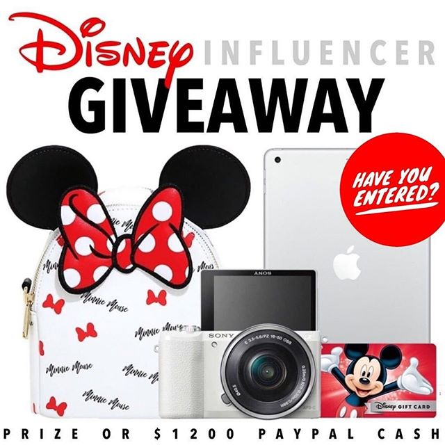 Who's ready for a day at the most magical place on earth?🐭🏰📷 Disney Influencer gift set or $1200 PayPal cash the choice is up to you! It just takes 30 seconds to enter!  To enter  1️⃣ Follow me @magicaltradingpost  2️⃣ Like this post ❤️ 3️⃣ Go to @gotta_have_it_giveaways and follow all directions  4️⃣ Tell us who your Disney Bestie is, TAG THEM! • • • #waltdisney #disneylandresortparis #disneyfan #disneylandparis25thanniversary #disneylandpark #disney #disneylandparis2018 #disneylife #mickeymouse #disneylandhalloween #disneylandcastle #parisdisneyland #disneygram #disneylandparis25 #disneyland #tokyodisneyland #instadisneyland #dlp #disneylandhotel #disneyworld #disneylandphotography #eurodisneyland #instadisney #disneylandresort #disneylandparis #disneylove #disneylandforever #disneyparks