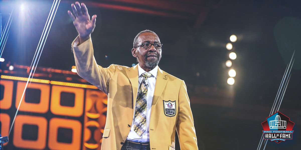 From  @ ProFootballHOF  - The Enforcer gets his jacket
