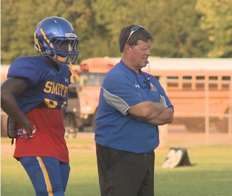 Assistant coach, Scott Johnson takes over at Oscar Smith. The teams comes off a 13-2 record and an appearance in the Group 6A state finals for the 2nd straight year.