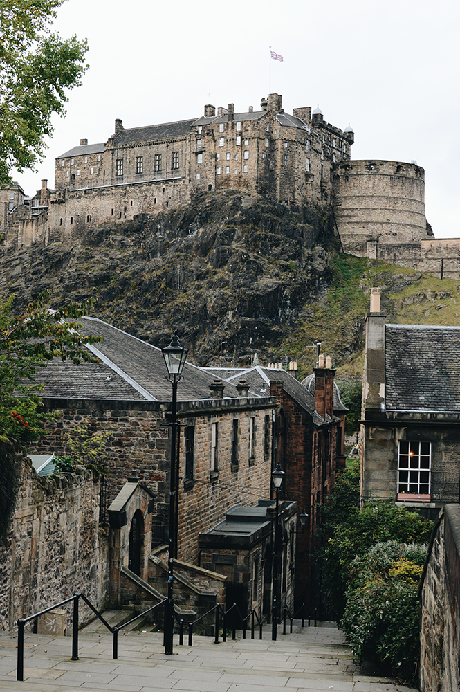 visit Edinburgh in Scotland