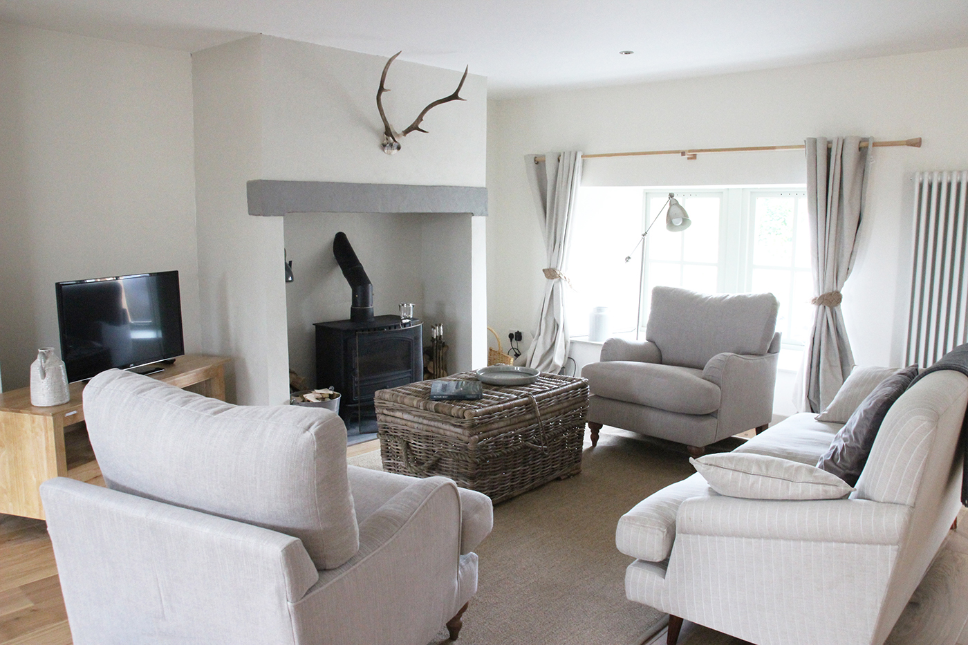 luxury self catering holiday cottage Perthshire