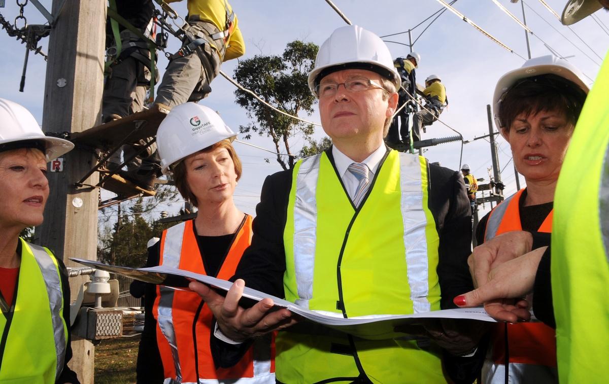 Labor looks towards a faster future...