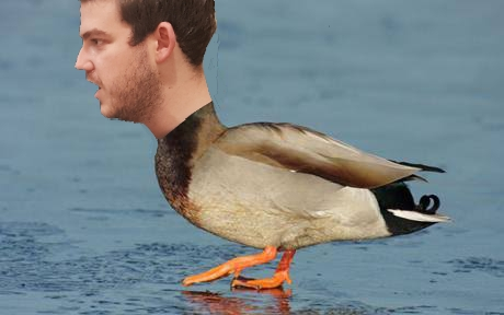And we stick him on a duck. Because we can. Go S-Pen.