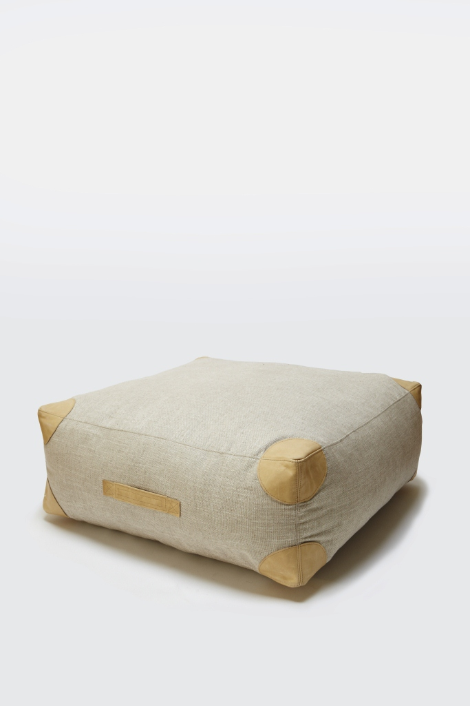 Phlieas medium floor cushion - A passport to comfort at home be it in the living room or the kids playroom.