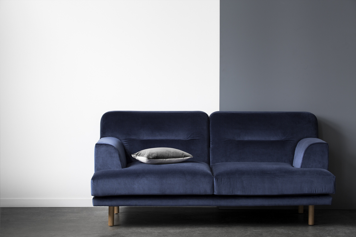 Camille sofa - Inspired by Scandinavian style and modernist aesthetics. It is versatile and timeless, with a high focus on comfort and details.